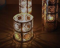 Easy moroccan lantern. #bedroom #DIY