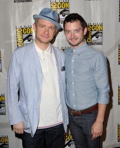 Great article...spazzing over Bilbo & Frodo shot.  Mr. Freeman...too wonderful.