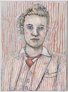 Hannah van Bart - Artists - Marianne Boesky-oil on linen