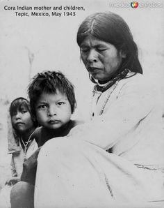 Indigenas Cora Hacia 1943