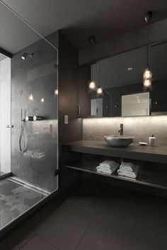 Are you and your bathroom the right candidates for a sleek minimalist setting? Contemporary bathroom, as well as a minimalist bathroom, is a perfect example of the interior perfection to optimize the space and maximize the appearance with a minimum of bathroom appliances. Minimalist bathroom Design #MinimalistHomeAppliances