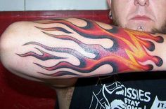Fire Tattoo Designs – the Choice Of Ambitious Men