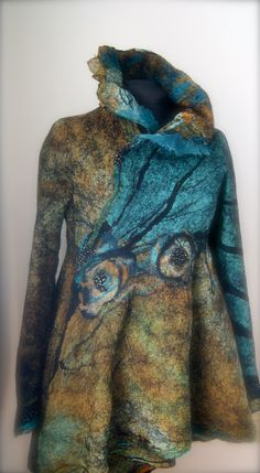 Just OMG!WOW! and holy crap this is the most beautiful jacket I've ever seen!!!   Costs about $2000.00  Sugarplum Originals by J. Gauger