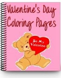 FREE Valentine's Day coloring pages for your kiddos!    #moms #education #preschool