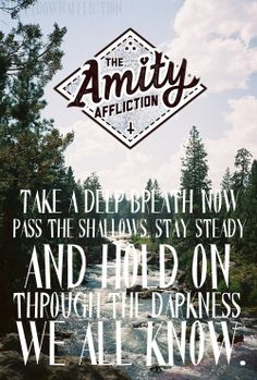 The Amity Affliction. Music Love, Music Is Life, Amity Affliction Lyrics, Make Her Smile, Pop Punk, Life Savers, My Chemical Romance, Music Lyrics, In My Feelings