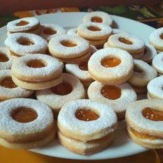 Lekváros linzer Recept képpel - Mindmegette.hu - Receptek Biscotti, Doughnut, Cheesecake, Food, Minden, Clear Skin, Cheesecakes, Essen, Meals