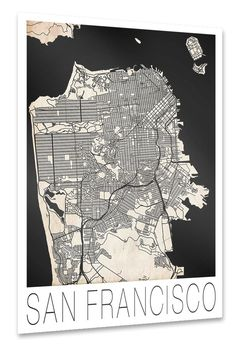 Retro City Map San Francisco