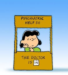 Lucy van Pelt  And yes, I think everything should be 5 cents.