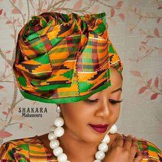 Ghana Fashion, Africa Fashion, Turban, Aso Ebi, Rock Style, Headgear, Fashion Addict, Head Wraps, Wrap Style
