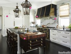 Inside a Kitchen Where the Stove Is the Star  - HouseBeautiful.com