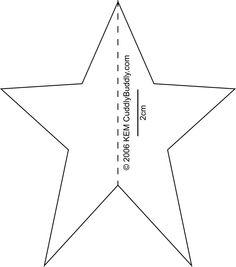 Molde de Estrella para Imprimir muchos moldes gratis para