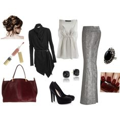 """""""Business Casual""""//love everything about this! Work Fashion, Cute Fashion, Hijab Fashion, Women's Fashion, Formal Outfits, Work Outfits, Cute Outfits, Office Clothing, Business Casual Attire"""