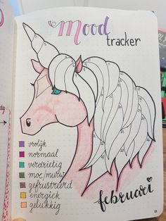 #Unicorn #moodtracker by Crien