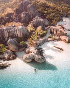 Anse' Source d' Argent, La Digue Island