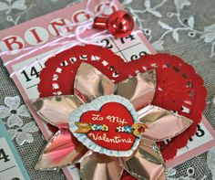 Valentine's Day…the day to celebrate LOVE, and what better way to do that, than to give your loved ones treats? Using various items from our Vintage Store, and the new Craft Pantry Staples products, I created a few Valentine treats … Continue reading → Valentine Wreath, Valentine Ideas, Vintage Valentines, Funny Valentine, Valentine Heart, Valentine Day Cards, Card Crafts, Paper Crafts, Glue Guns