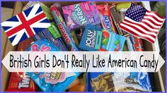 British Girls Don't Really Like American Candy!! | Asia Jade