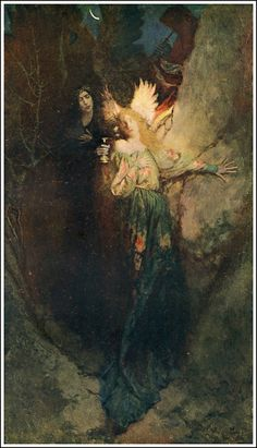 Howard Pyle Century Magazine ~ December/1902 The Travels of the Soul