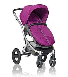 Cozy Toes in Cool Berry for the Affinity Stroller by Britax - Britax USA #baby #trendy #radiantorchid
