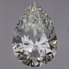 3.02 Carat G Color Pear Diamond, IF, GIA Certified from Enchanted Diamonds