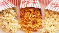 Learn how to make Homemade Microwave Popcorn with just popcorn kernels and a brown bag. I'll even show you 3 delicious flavors including Caramel Corn!