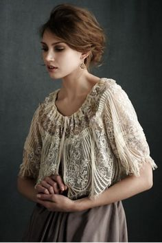 love the lace blouse so much!