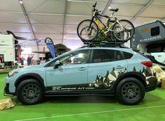 Camping Car, Camping And Hiking, Subaru Outback Lifted, Subaru Crosstrek Accessories, 4x4, Sema 2019, Fuel Saver, Falken Tires, Crossover Cars