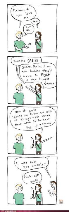 Team Hate Peeta or Team Hate Gale?  Both. - Continued!