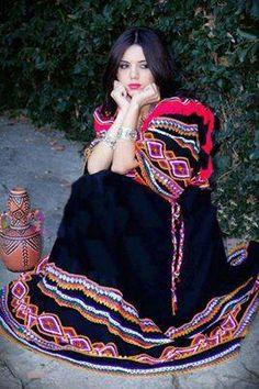 tenue kabyle  tenus Algérienne