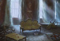 Mysterious Signs- living room by DartGarry.deviantart.com on @deviantART