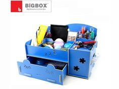 Creative desk wooden drawer DIY cosmetic box| Buyerparty Inc.