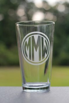 Custom glasses etched pint glasses great groomsman by EdgyEtch, $9.00