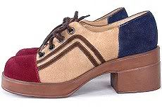 Shoes from the 70s...I was so jealous of the one girl in highschool who had these shoes! w.