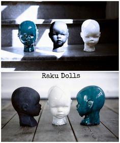1-Desktop16..DIY: Lille hoved inspireret af Raku Doll skulptur.