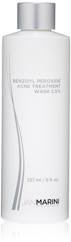 Jan Marini Skin Research Benzoyl Peroxide Acne Treatment Wash 2.5%, 8 fl. oz. Durable Product.
