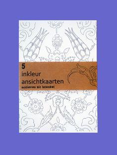 Ansichtkaarten No. 2 - Kleurboek voor Volwassenen