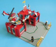 lego 6389 1 Vintage Lego, Cool Lego, Lego City, Legos, Planer, Fire, Clearance Toys, Lego, Logos