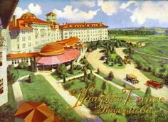 Can I please go back in time? Hard to believe this was in NA! Terrace Hotel, North Augusta, Great Grandparents, Back In Time, Footprints, Homeland, South Carolina, The Hamptons, Georgia