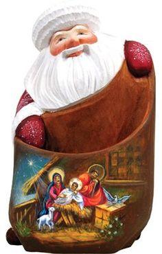 30 Wood Carved Santa Masterpieces Ideas Masterpiece Santa Santa Figurines