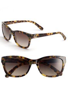 Tory Burch tortoise shell sunglasses