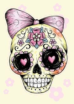 29 #Downright Awesome Sugar Skulls You're Going to Love ...