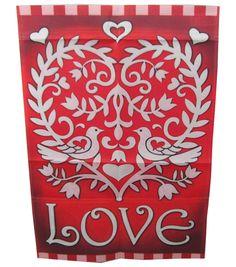 Little Love Birds flag :) #Valentine