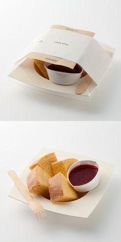 "CLUB HARIE B-studio「デセールバーム ベリー」Lovely ""eats"" packaging PD"