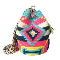You saved to Wayuu Bags  $40.00 Retail Price SMALL Mochila Wayuu Bag | RETAIL + WHOLESALE | Handmade and Fair Trade Wayuu Mochila Bags LOMBIA & CO. | www.LombiaAndCo.com