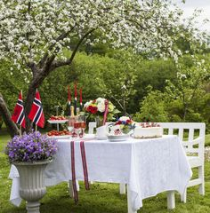 Pynt et lekkert festbord til 17. mai.