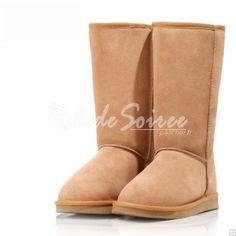 Bottes Fourrées-Sexy bottes de neige de la mode classique BGG bottes hautes en c