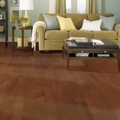 Solid Wood Flooring is a highly sought after item for homeowners. You see, traditional solid hardwood flooring has to be nailed down to the floor, making this option less viable. Solid Wood Flooring, Wide Plank Flooring, Engineered Hardwood Flooring, Diy Flooring, Hardwood Floors, Dark Hardwood, Carpet Flooring, Prefinished Hardwood, Floating Floor