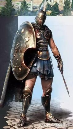 "Ancient Greek, Athenian Soldier/Warrior as seen in the movie with Gerard Butler & also, as Soldier/Gladiator/Warrior in ""The Legend Of Hercules"" with Kellan Lutz as ""Hercules"" Character Concept, Character Art, Concept Art, Fantasy Armor, Medieval Fantasy, Fantasy Art Warrior, Spartan Tattoo, Spartan Warrior, Roman Empire"