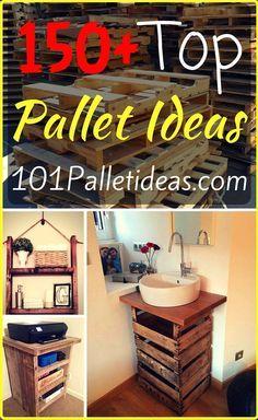 150+ Wonderful Pallet Furniture Ideas | 101 Pallet Ideas - Part 10
