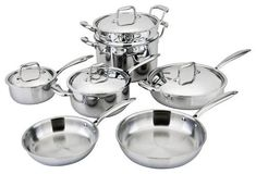 All-Ply 11pc Cookware Set ** New and awesome product awaits you, Read it now  : Cookware Sets