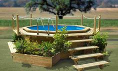 Cool Above Ground Pool Ideas | Photo Gallery of the Above Ground Swimming Pools in Various Designs